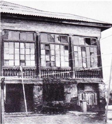 Астрахань, галерея дома (кон. 19 века)