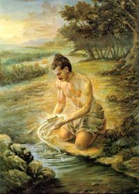 Рыба как один из реинкарнаций Вишну
