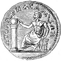 Монета с Пифагором