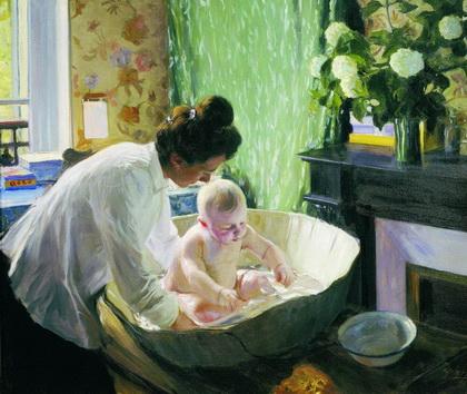 Утро (Б. Кустодиев, 1904 г.)