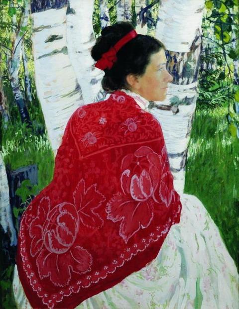 Портрет жены художника. 1909