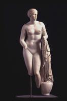 Пракситель. Афродита Книдская. Римская копия. Около 350 г. до н.э. Мюнхен, Глиптотека