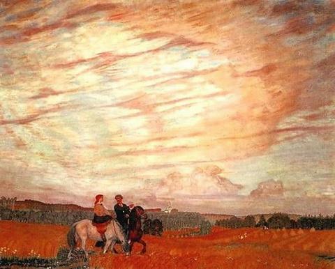Прогулка верхом (1915 г.)