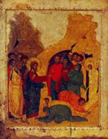 Воскрешение Лазаря (икона)