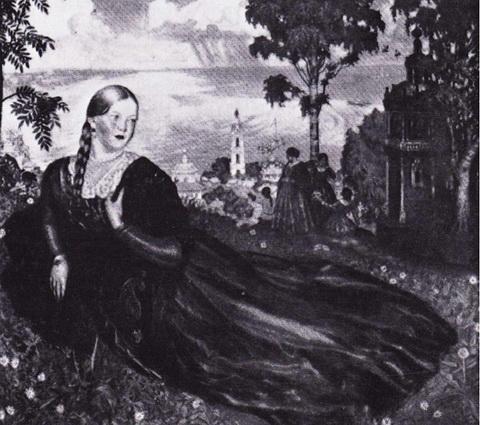 Девушка на Волге (1915 г.)