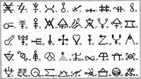 Система алхимических знаков В.Н. Мороза