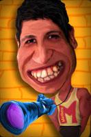 Смешной человек (шарж)