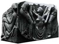 Рождение Афродиты (Трон Людовизи. 475-450 гг. до н.э. Рим. Музей Терм)