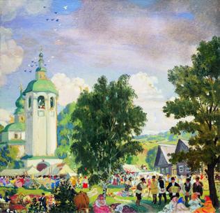 Сельский праздник, 1919 год