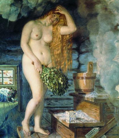 Русская Венера (Б. Кустодиев, 1925-1926 г.)