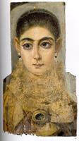 Женский портрет (Фаюмские портреты. II в.)