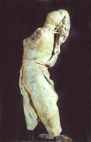 Скопас. Менада. Середина IV в. до н.э. Мраморная римская копия с греческого оригинала. Дрезден. Альбертинум