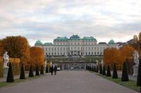 Дворец Бельведер. Вена