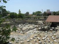 Руины Галикарнасского Мавзолея (Греция. IV в. до н.э.)