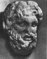 Скопас. Голова бородатого бога, Ольвия. IV в. до н.э.