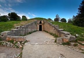 Сокровищница Атрея (гробница Агамемнона). 14 в. до н.э.