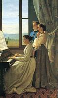Пение (Сильвестро Лега, 1868)