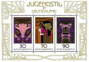 Немецкие марки (Югендстиль)