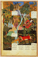 Спящий Рустам (Султан Мухаммед)