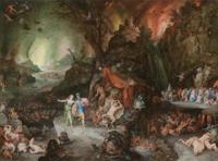 Эней и Сивилла в царстве мертвых (Питер Брейгель, 1598 г.)