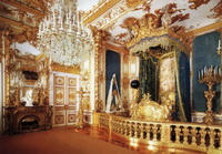 Балдахин в спальне Людвига II