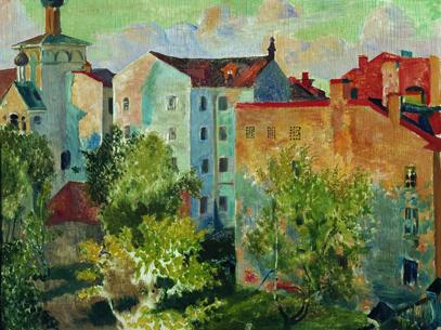 Вид из окна, 1926 год