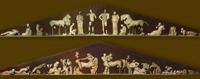Храм Зевса. Восточный и западный фронтоны