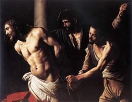 Бичевание Христа (Микеланджело Меризи да Караваджо. 1607)