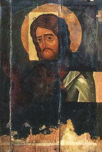 Иоанн Предтеча (Икона, конец XIV - начало XV в.)