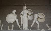 Скульптурная группа (Центральный фронтон храма Афайи. Около 500 г. до н.э.)