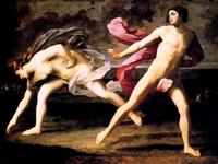 Аталанта и Гиппоменей (Гвидо Рени, 1615-1625 гг.)