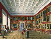 Зал голландской и фламандской школ (Экспонаты Эрмитажа)