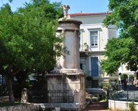 Памятник Лисикрата в Афинах. 334 г. до н.э.