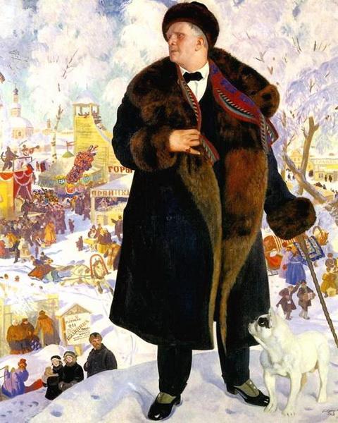 Портрет Ф.И. Шаляпина (1921 г.)
