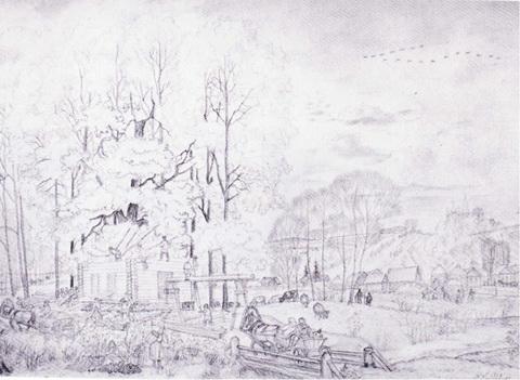 Осень (из серии Времена года, 1919 г.)