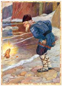 Cказка о рыбаке и рыбке (Артур Диксон)