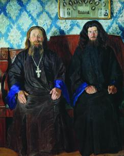 Портрет священника и дьякона, 1907 год