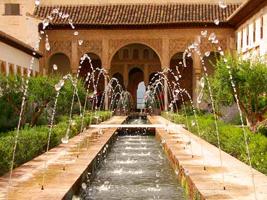 Мавританский сад. Альгамбра.